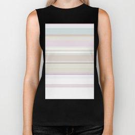 Stripes and Pastels Sands of Time Pattern Biker Tank