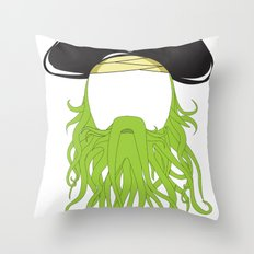Davy Jones Throw Pillow