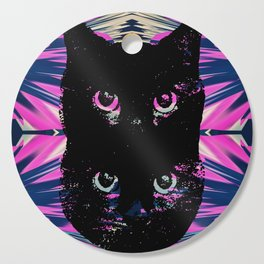 Black Cat Rising Cutting Board