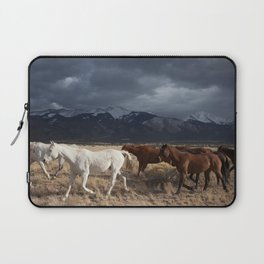 Wild Horses Laptop Sleeve