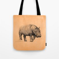 hippo Tote Bags featuring Hippo by 1 of 20