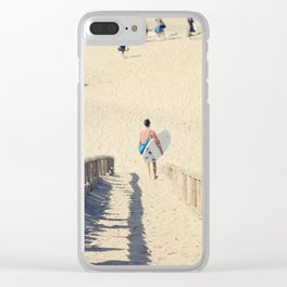 surfing II Clear iPhone Case