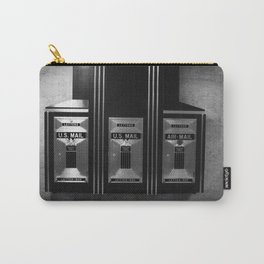 Mailboxes Black and White Original Photo Carry-All Pouch