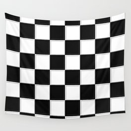 checkers Wall Tapestry