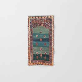 Sivas Antique Turkish Niche Kilim Print Hand & Bath Towel