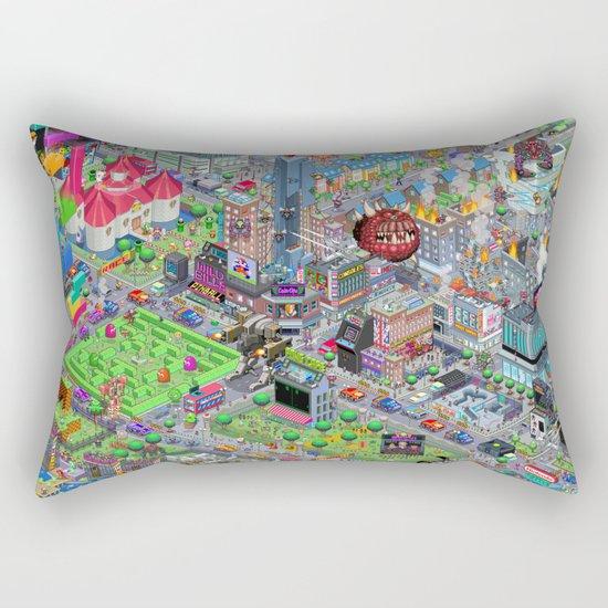 Videogame City V2.0 Rectangular Pillow