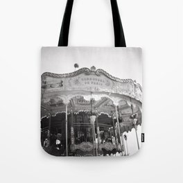 Carousel de Paris Tote Bag