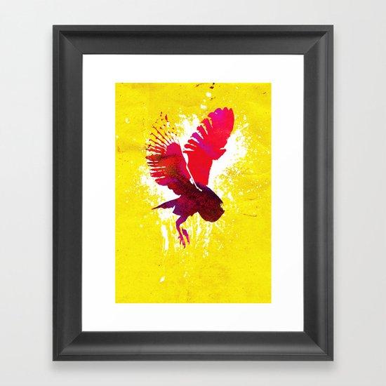 Natural Flight Framed Art Print