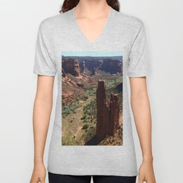 Spider Rock - Amazing Rockformation Unisex V-Neck