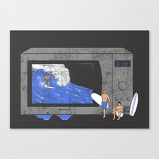 Microwave Canvas Print