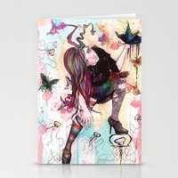 sandman Stationery Cards featuring Delirium, The Sandman by Anguiano Art