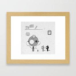 Doctor Framed Art Print