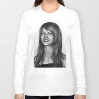 hayley williams Long Sleeve T-shirts featuring Hayley Williams by ''Befne''