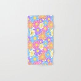 Floral Daisy Dahlia Flower Hand & Bath Towel