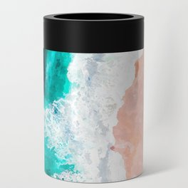 Beach Illustration Can Cooler