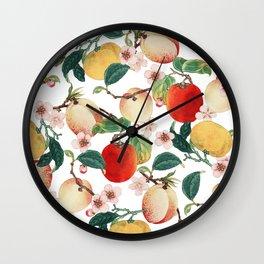 Fruity Summer #society6 #decor #buyart Wall Clock