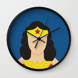 Woman Hero Lynda Carter, Wonder Wall Clock