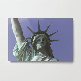 Statue Of Liberty V Metal Print