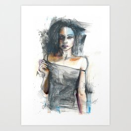 Berman Dark Art Print
