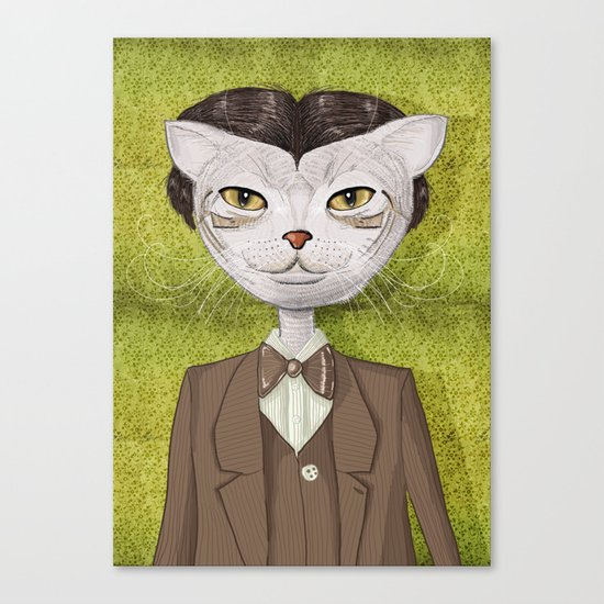 Mr. Jones Canvas Print
