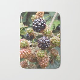 Blackberries Bath Mat