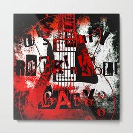 it's only rock n roll Baby Metal Print