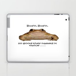 Bufo Bufo So Good They Named It Twice Laptop & iPad Skin