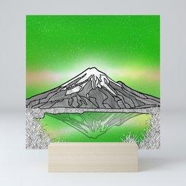 Mount Taranaki New Zealand Mini Art Print