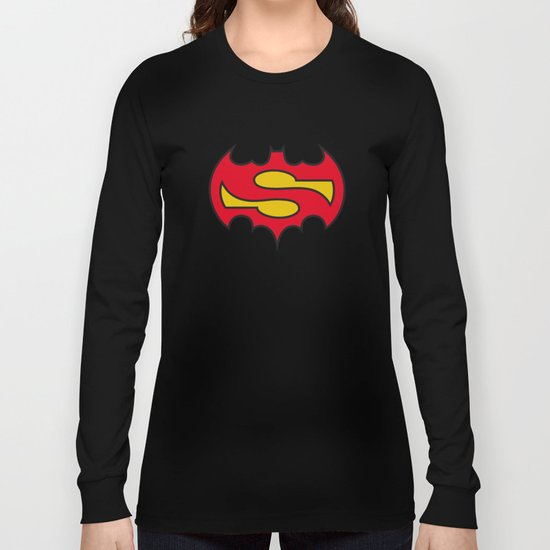 Superbatman comic Long Sleeve T-shirt
