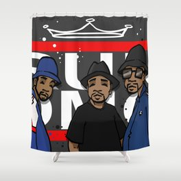 Get Down with the Kings Shower Curtain