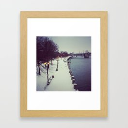 The Waterfront Framed Art Print