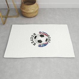 Goalkeeper,football,soccer Rug