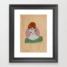 Mad Men / Joan Framed Art Print