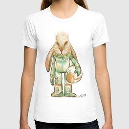 bunny astronaut T-shirt