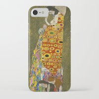 gustav klimt iPhone & iPod Cases featuring Hope II by Gustav Klimt  by Palazzo Art Gallery