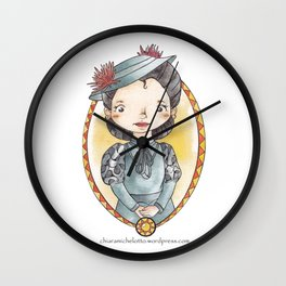 Francisca Montenegro Wall Clock