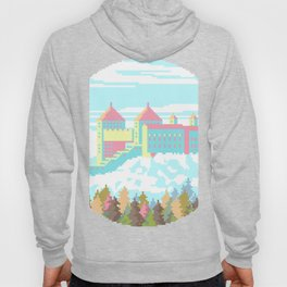 Pastel Castle, rounded version Hoody