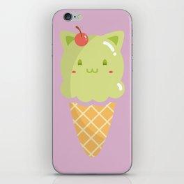 Pistachio Ice-cream iPhone Skin