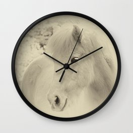 Dreaming Horse Wall Clock