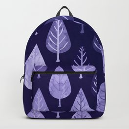 Watercolor Forest Pattern #8 Backpack