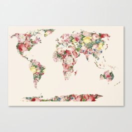 Beautiful World Canvas Print