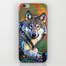 Aura of the Wolf iPhone Skin