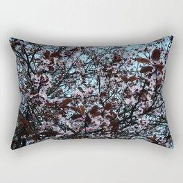 Cherry Blossom Detail Rectangular Pillow