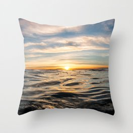 The Rise of Happiness Throw Pillow