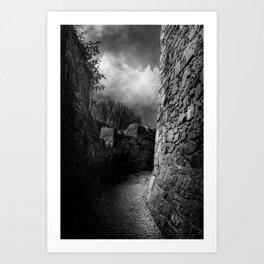 Castle Path Art Print