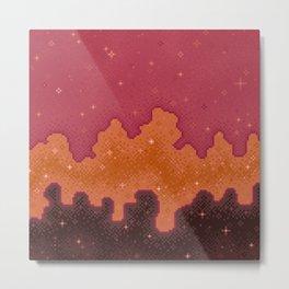 Autumn Starscape Metal Print
