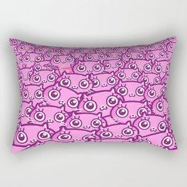 Crazy Cat Lady Dreams Rectangular Pillow