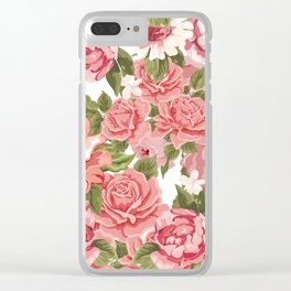 Mother Blossom Clear iPhone Case