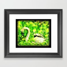Swan Song Framed Art Print