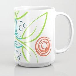 Flower Girl Whirl Coffee Mug